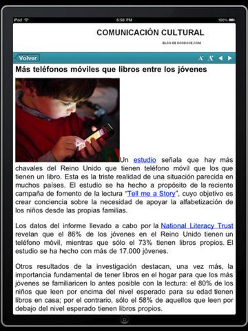Dosdoce en iPad