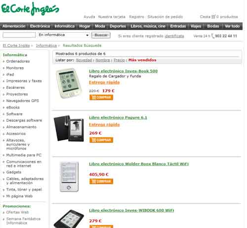 ebooks corte ingles