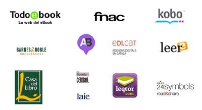 logos tiendas online de libros