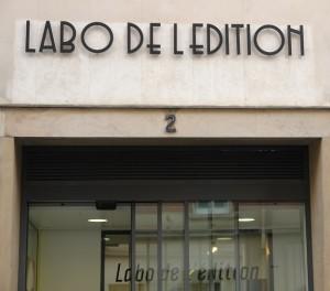 Le Labo de l'Edition