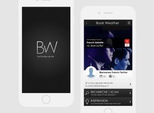 bookweather app