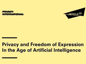 Privacidad y libertad de expresión en la era de la inteligencia artificial