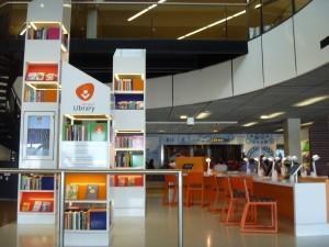 biblioteca aeropuerto