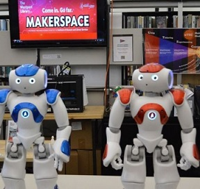 humanoid-robots-vincent-and-nancy-to-debut-at-westport-library-in-october